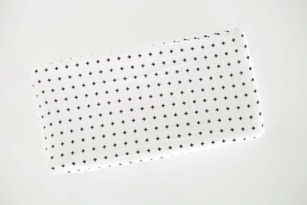 Load image into Gallery viewer, Changing Pad Cover -  Swiss Cross