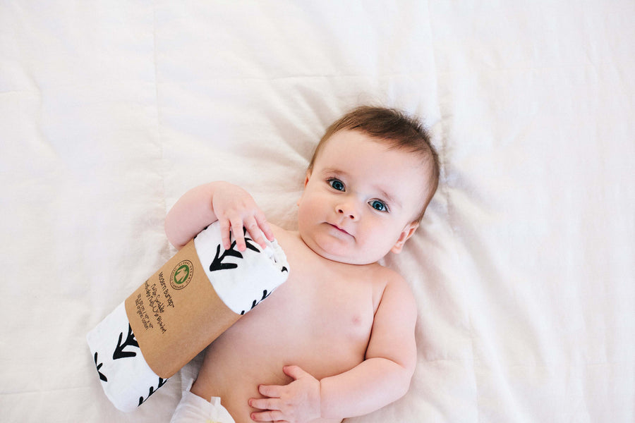 Organic Cotton Organic Cotton Muslin Swaddle Blanket -   Tree Hugger