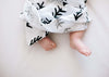 Organic Cotton Muslin Swaddle Blanket -  Tree Hugger