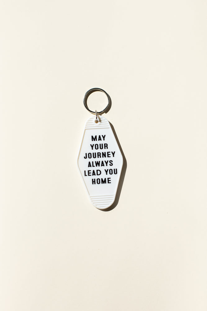 Load image into Gallery viewer, Vintage Keychain - White