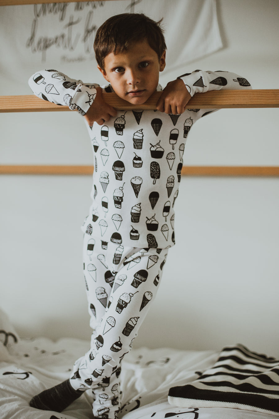 Organic Pajama Set -  Prints