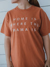 Favorite Everyday T-Shirt - Home is where the Mama is - YAM