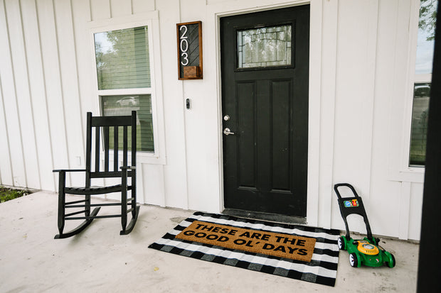 XL Doormat | These are the good ol' days 1