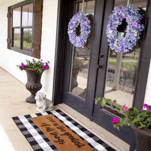 XL Doormat | Love is the Greatest of all things