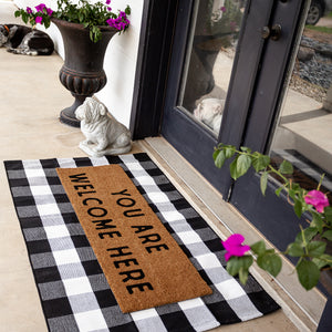XL Doormat | You are welcome here