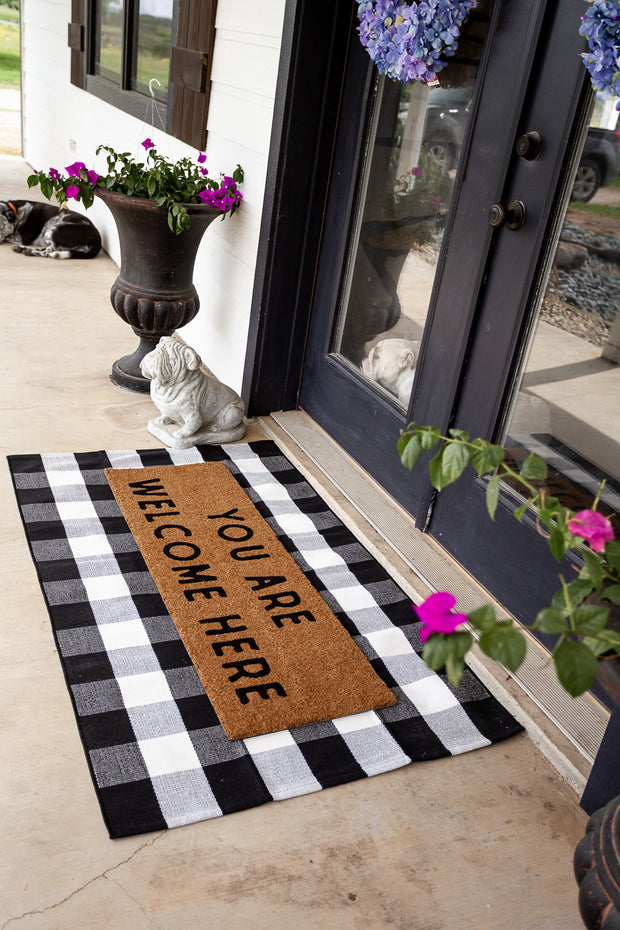 XL Doormat | You are welcome here 1