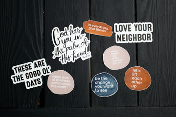 Love your neighbor - Die Cut Sticker