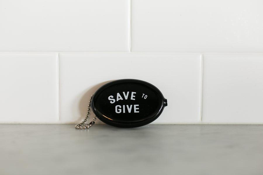 Vintage Coin Pouch - Black
