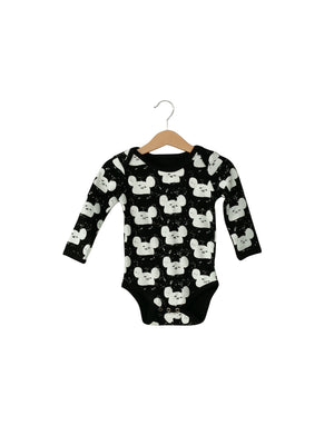 Load image into Gallery viewer, Organic Long Sleeve Bodysuit -  Prints