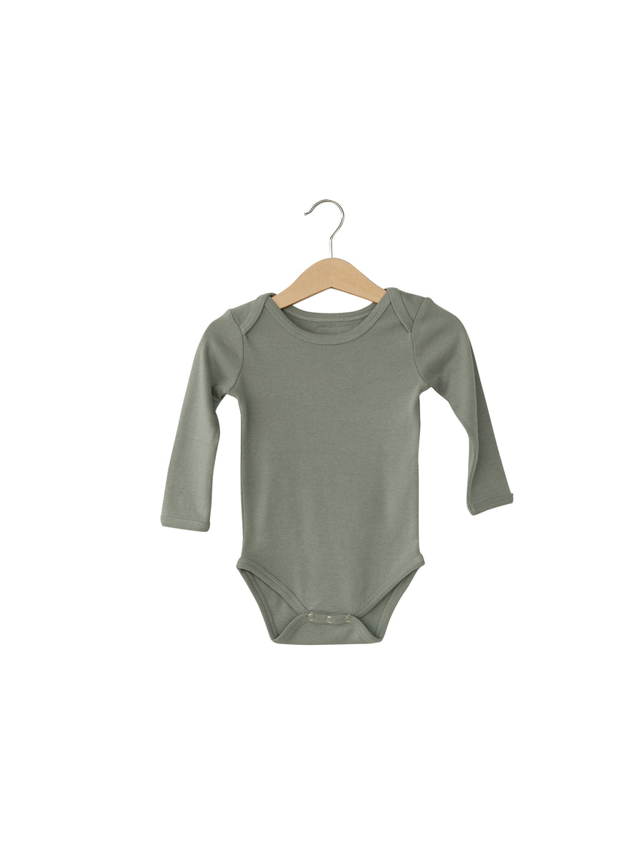 Organic Long Sleeve Bodysuit -  Colors
