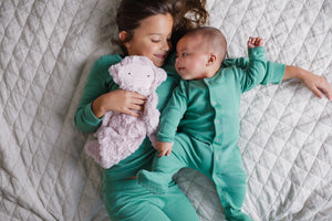Load image into Gallery viewer, FINAL SALE - Organic Pajama Set -  PINE GREEN