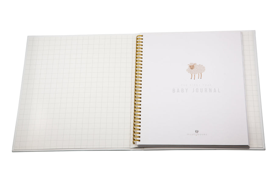 Mushybooks - The First Year Baby Journal