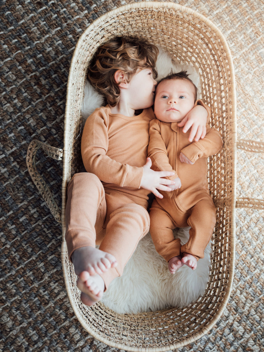 Baby + Child Organic Thermal Pajama Set ☆ GINGER
