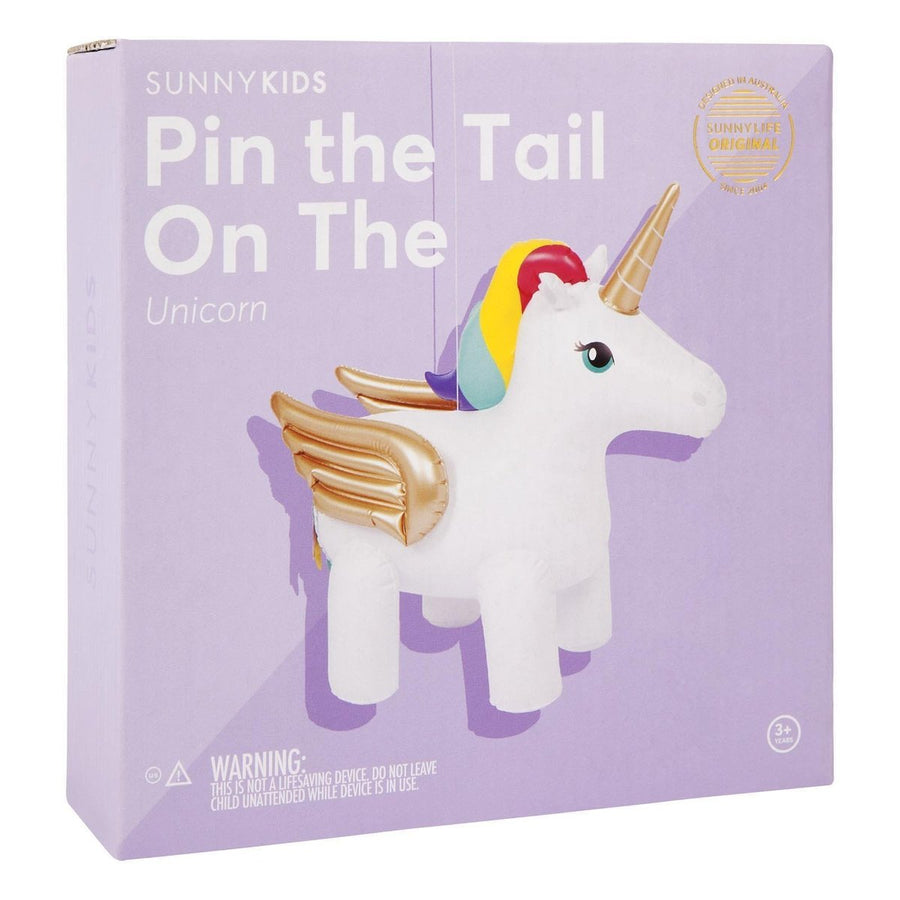 Sunny Life Inflatable Pin the Tail on the | Unicorn