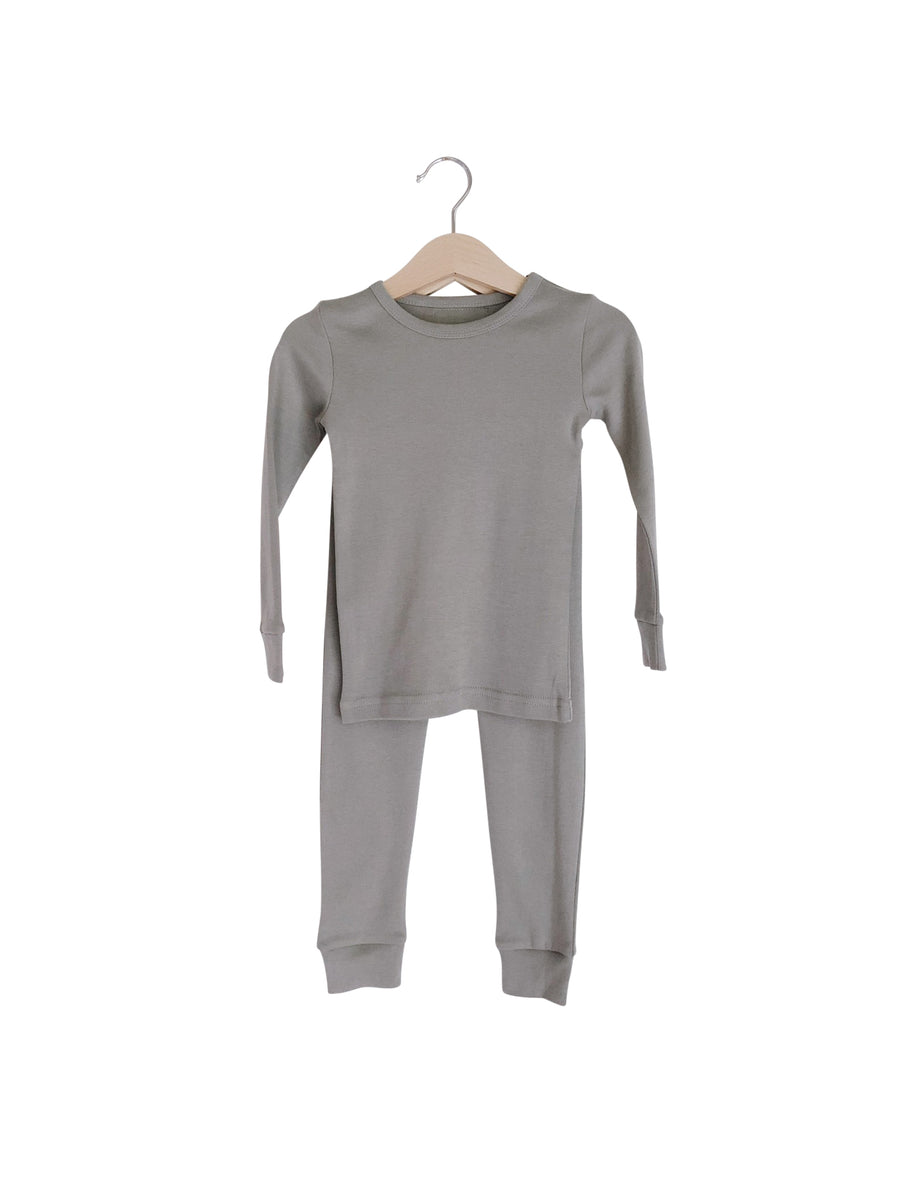 Organic Pajama Set -  Colors