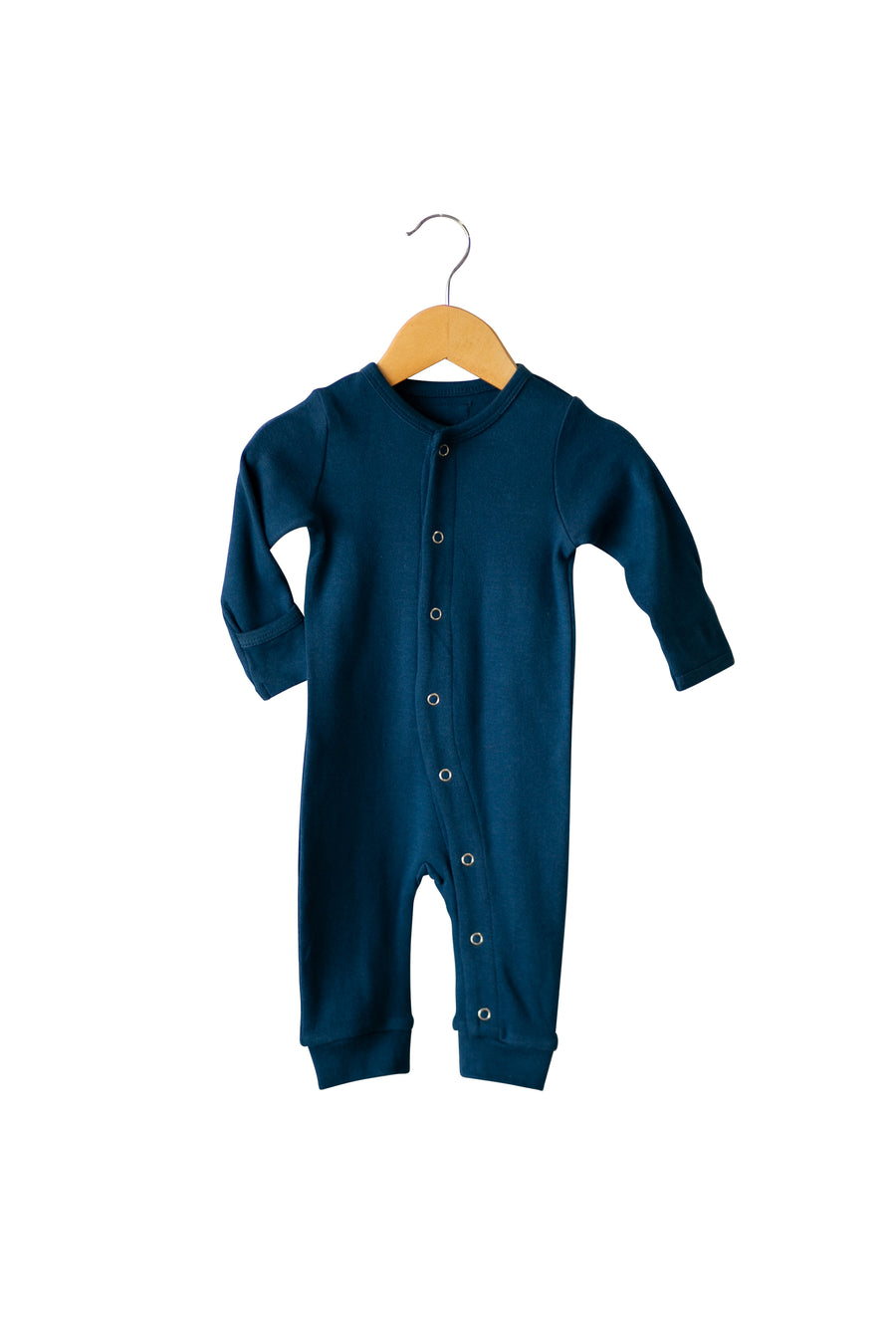 Organic Button Coverall -  Colors