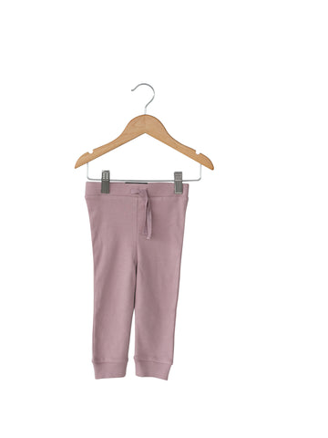 Organic Lightweight Faux Drawstring Pant - Colors
