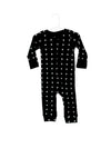 Organic Thermal Zip Coverall - WHITE ON BLACK SWISS CROSS