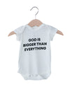 God is bigger than everything Onesie
