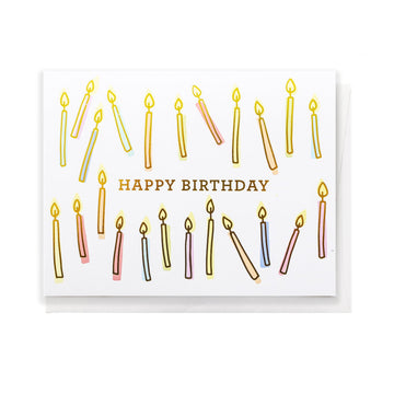 Greeting Card, Birthday Candles
