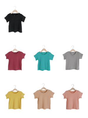 Load image into Gallery viewer, Organic Basic Tee -  Colors