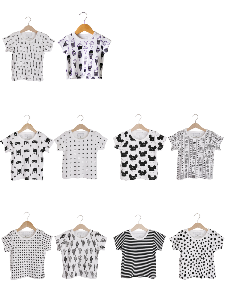 Load image into Gallery viewer, Organic Basic Tee -  Prints