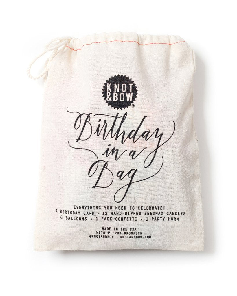 Knot & Bow - Birthday in A Bag