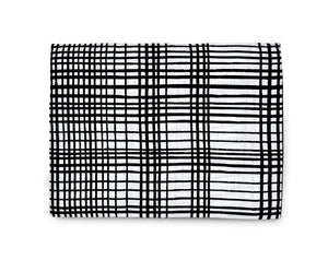 Load image into Gallery viewer, Organic Cotton Muslin Swaddle Blanket -  GRID