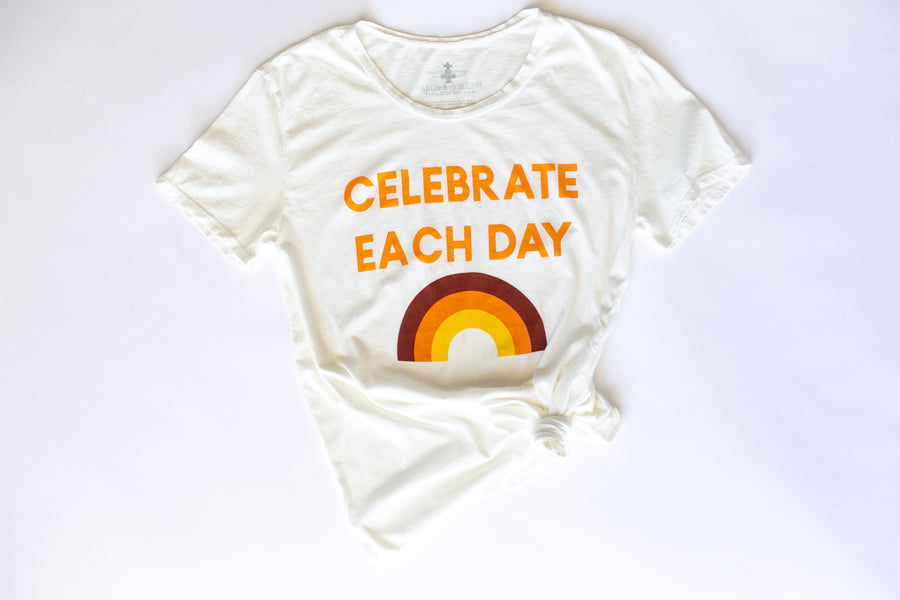 Celebrate Each Day Unisex Crewneck Tee
