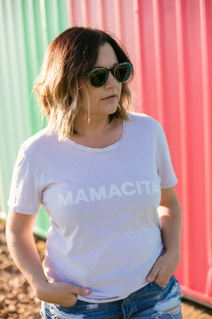 Load image into Gallery viewer, Women's Mamacita Crewneck Tee