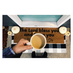 Load image into Gallery viewer, XL Scripture Doormat | Numbers 6:24
