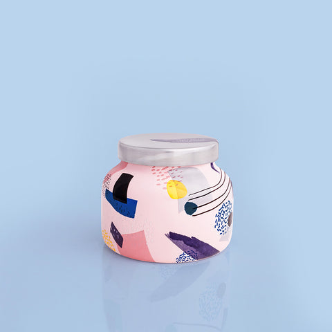 Pink Peppermint Metallic Pink Petite Jar, 8 oz
