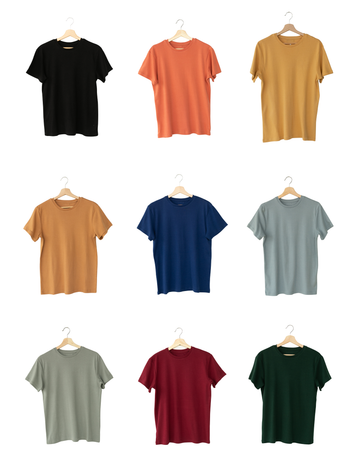 Organic Men's Crewneck Tee - Solids