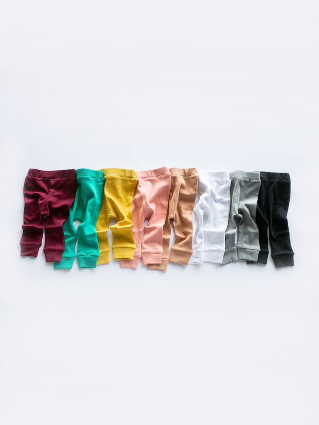 Organic Basic Pant - SOLID COLORS