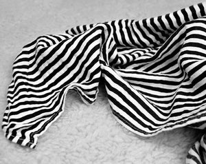 Load image into Gallery viewer, Organic Cotton Muslin Swaddle Blanket -  STRIPES