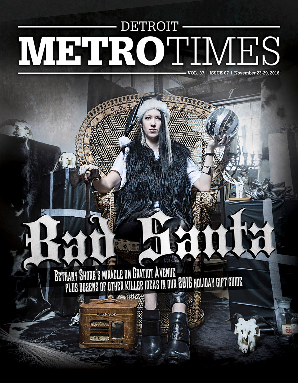 MetroTimes cover story well done goods cyberoptix bethany shorb