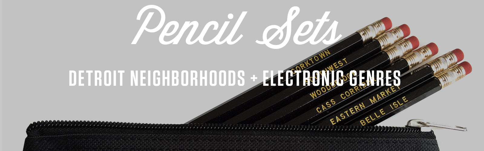 well done goods neighborhood, music pencil sets