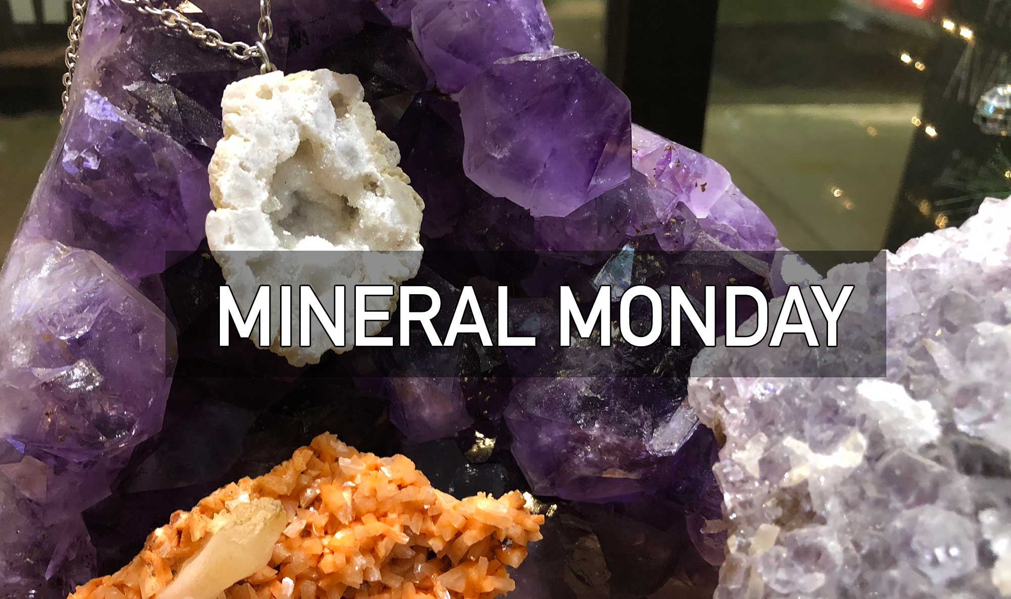 Mineral Monday facebook live, well done goods