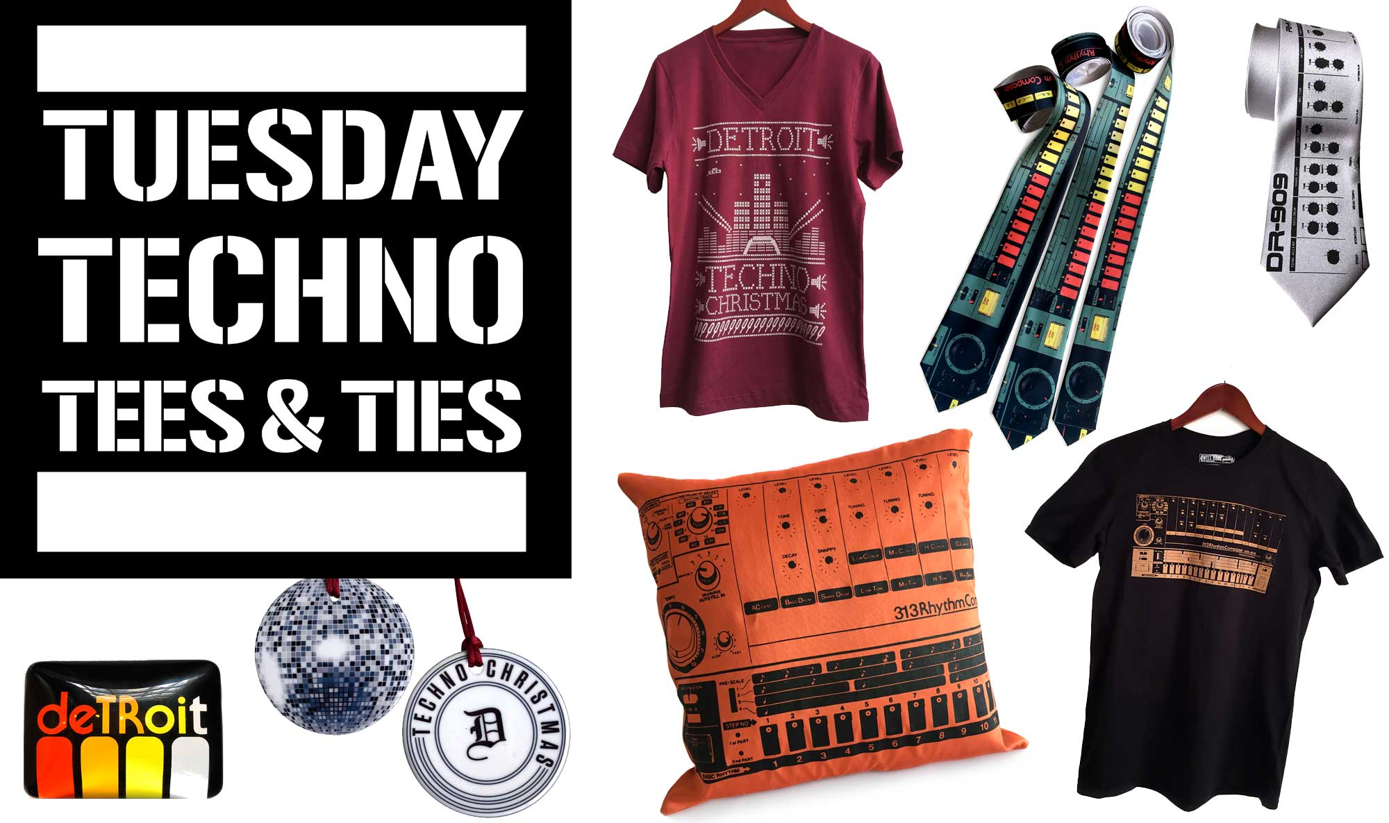 Techno and Ties Tuesday, facebook live