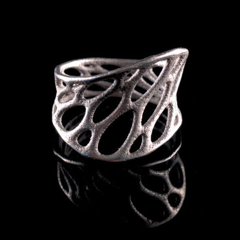 Stainless Steel 1-Layer Twist Ring