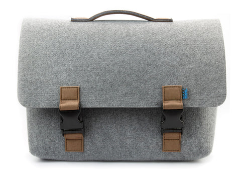 Kel Briefcase, Grey