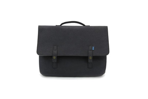 M.R.K.T. Kel Briefcase, Iron. Smrt Felt / Vegan Leather