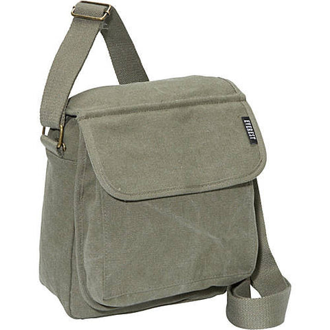 Everest Small Olive Canvas Bag, Well Done Goods