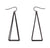 Long 3D Pyramid Earrings, Well Done Goods