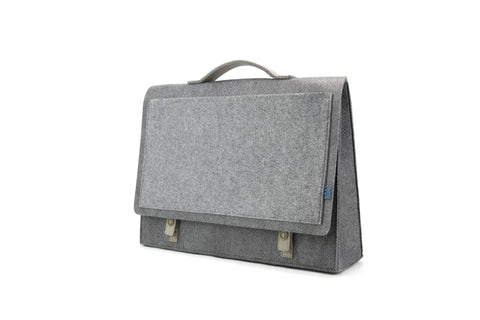 Mateo Briefcase, Grey