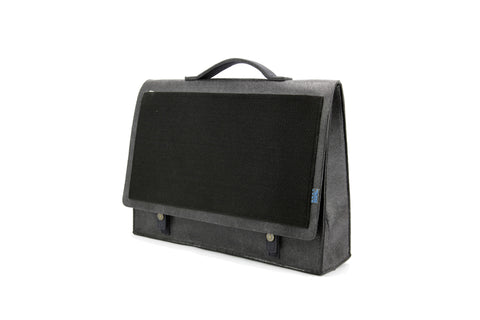Mateo Briefcase, Charcoal