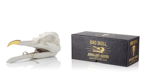 Bird Skull Jewelry Box by Suck UK, Well Done Goods