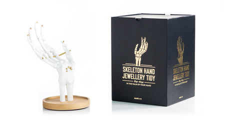 Skeleton Hand Jewelry Holder, Well Done Goods