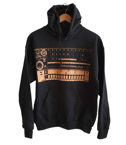 808 Drum Machine Pullover Hoodie, Well Done Goods