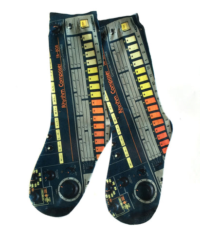 808 Drum Machine Socks